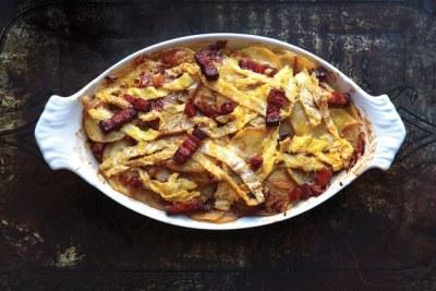 French Bacon, Potato, And Reblochon Casserole (Tartiflette)