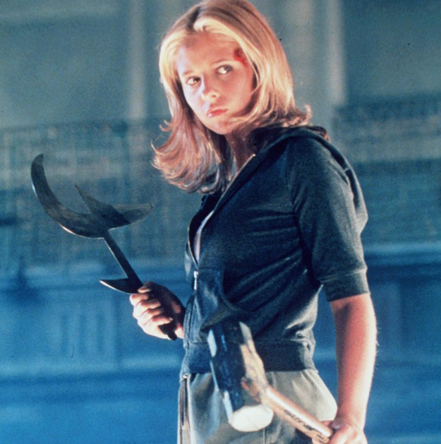 You remember Buffy, yes? The most important show of the '90s and early '00s?
