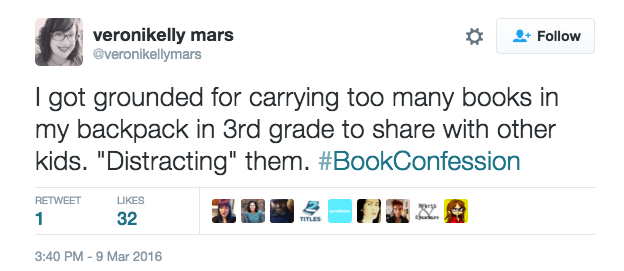 Book lovers can be troublemakers.