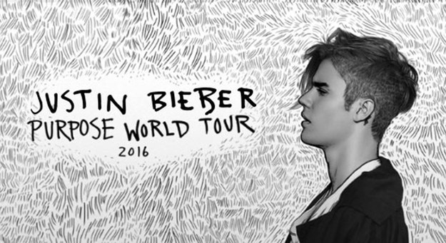 For those who aren't in the know, Justin Bieber is currently on his Purpose world tour.