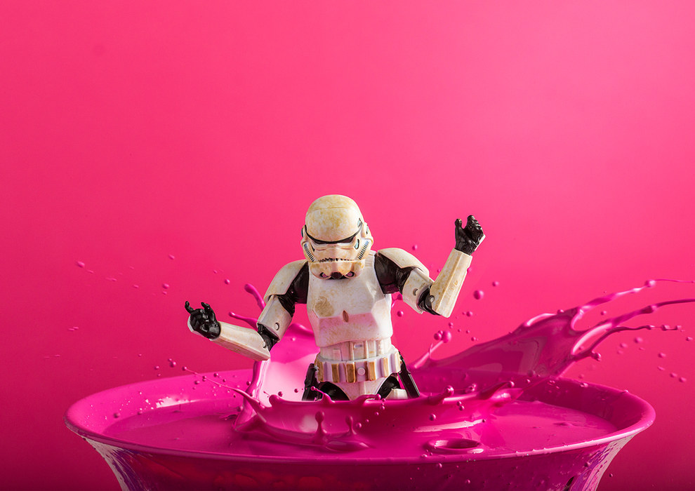 Darryll Jones, a conceptual artist living in the UK, has spent the last six years taking stunning photos of his Star Wars figurine, Eric the Stormtrooper.