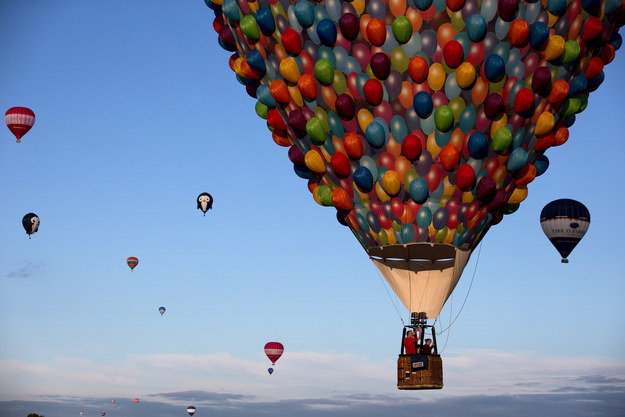 And maybe one day, the balloon can visit Angel Falls itself, the destination that inspired the movie's Paradise Falls.