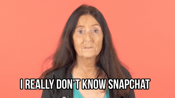 So, we decided to give two moms a crash-course on the ~mystical~ world of Snapchat.