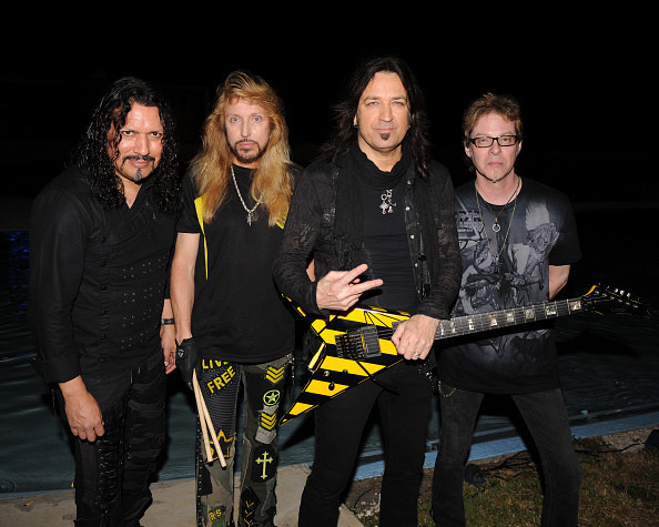 Stryper is a four-member Christian heavy metal band from Orange County, California. They formed in 1983 and have produced eleven albums in their 20-year career.
