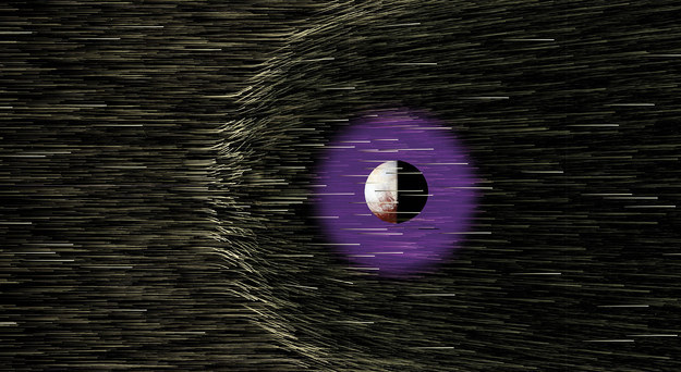 There's not much dust around the dwarf planet.