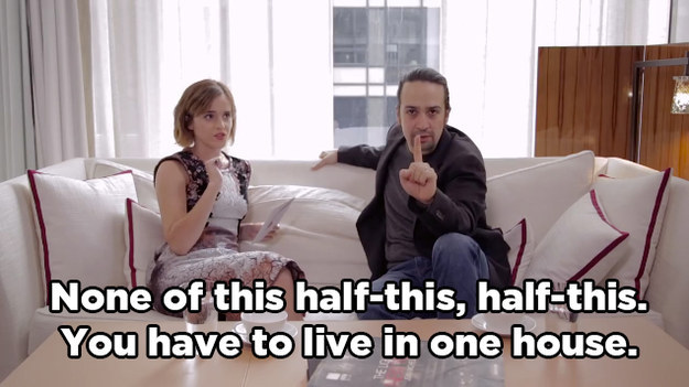 Yesterday, you may have seen Hamilton creator Lin-Manuel Miranda and Harry Potter star Emma Watson sit down to sort the founding fathers into Hogwarts houses.