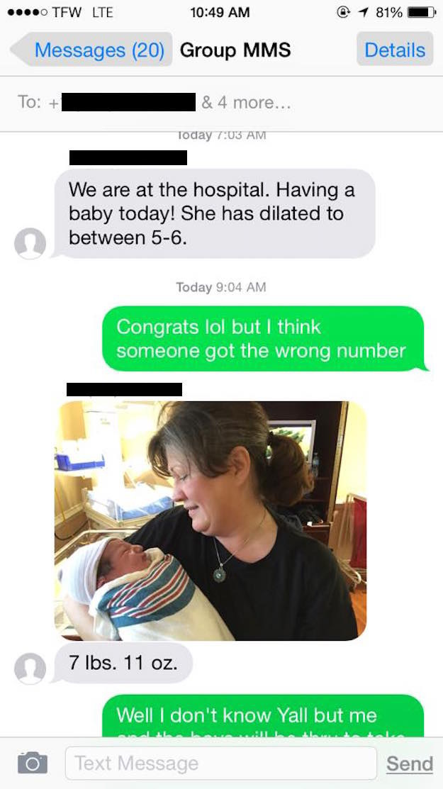 But then a second text message came with a photo.