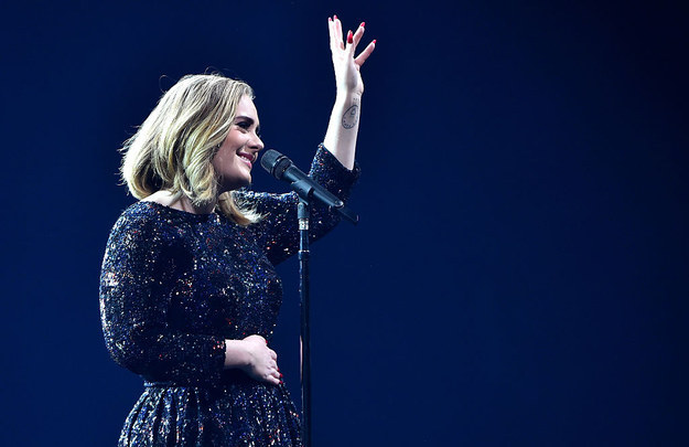 In the evening, Adele played the latest of her tour dates, in London's o2 arena, and took the opportunity to not only pay tribute to the lives lost, but also deliver her own message to those responsible.