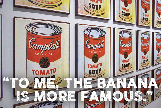 Campbell's Soup Cans, by Andy Warhol
