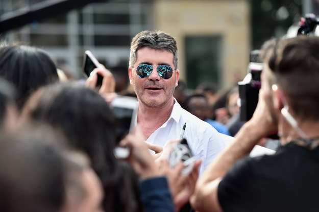 This is Simon Cowell. You should probably know him because he's pretty legendary.