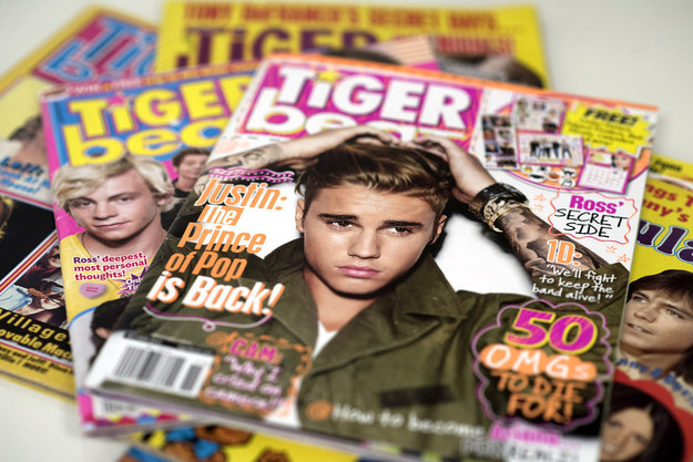 Teen magazines like Tiger Beat have always been about teen boys pretending to be men for the consumption of young girls. But what if that became grown women posing as teen boys pretending to be men for the consumption of young girls?