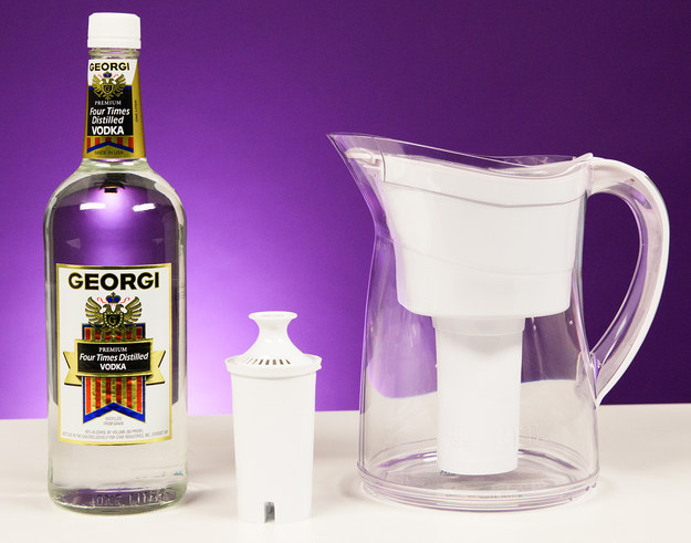 You've probably heard about it before: filtering cheap vodka through a water filter to make it taste better... But, does it actually work?