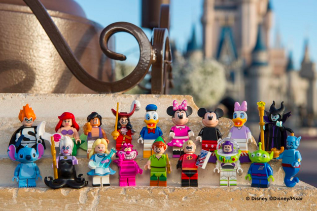 Well now you'll be able to collect your favorite character in Lego form...and while they might be small, they pack a LOT of magic.