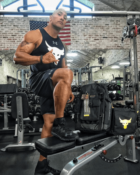 Soooo, The Rock is hot. We already know this.
