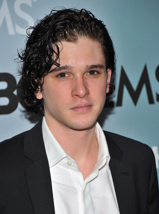 Jon Snow (JK Kit Harrington) was fresh-faced and very much alive.