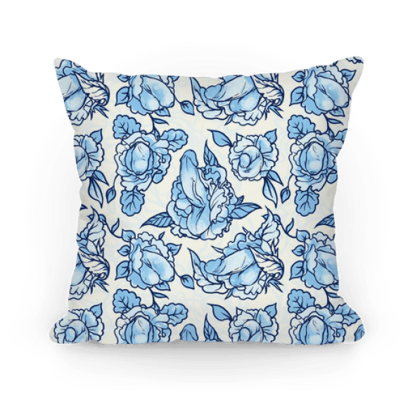 This beautiful floral throw pillow for your couch.