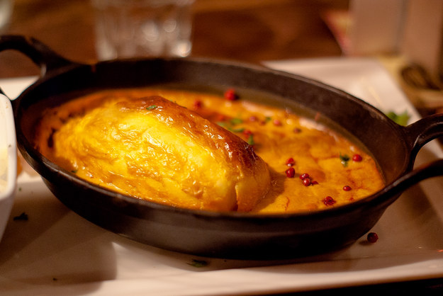 Quenelles of Pike with Lobster Sauce