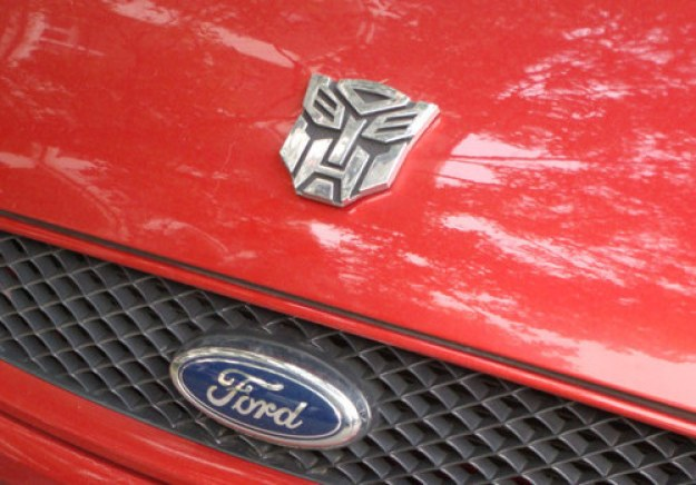 """I convinced my son our car is an Autobot."""