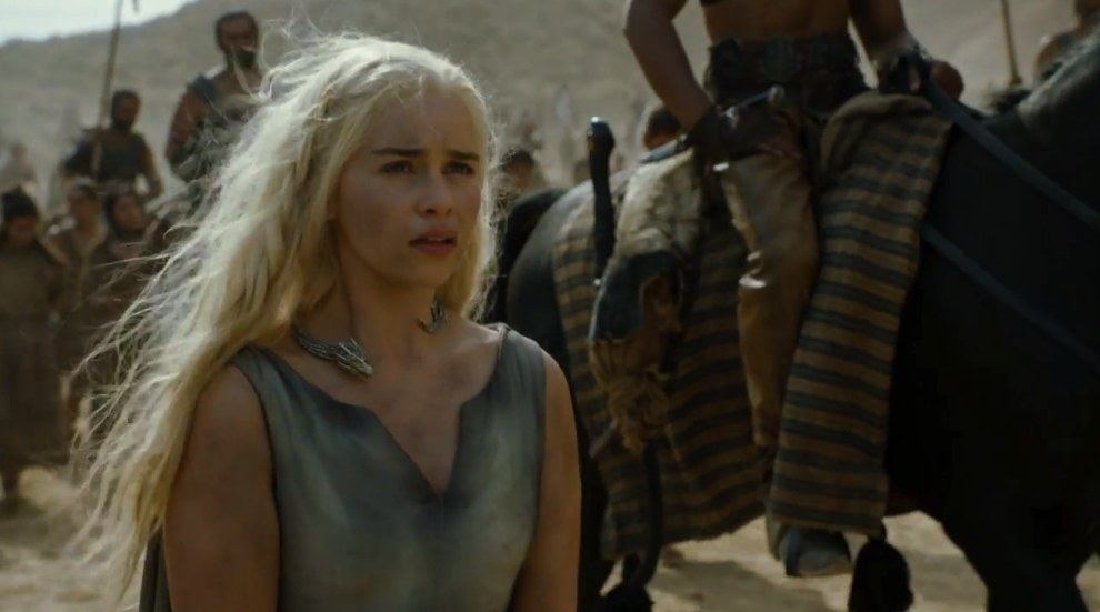 Next we see Dany, who very much appears to be in prisoner mode.