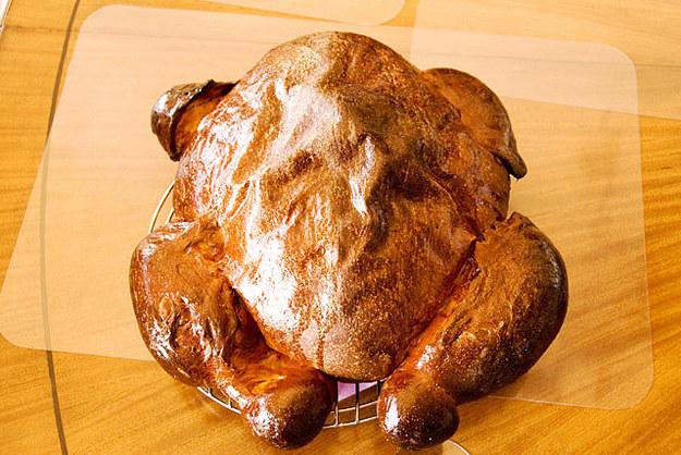 Thanksgiving Turkey Pumpkin Bread