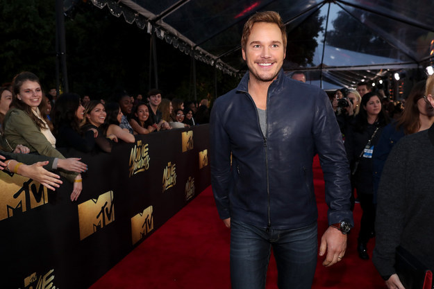 It's red carpet time with Chris Pratt. 