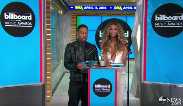 Earlier this morning Ludacris and Ciara gathered at Good Morning America to announce the 2016 Billboard Music Awards nominees.