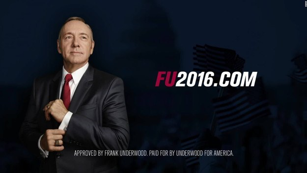If you've been watching House of Cards, you've experienced the weirdness of watching a US election plotline at the same time as the US election in real life.