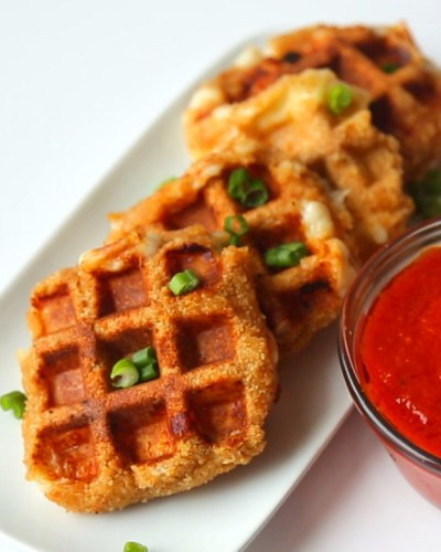 Mozzarella-Stick Waffles