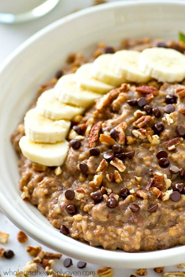 Banana Bread Steel-Cut Oatmeal