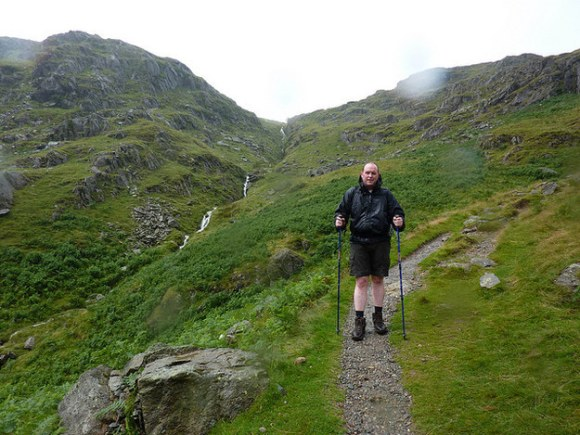 Mountain climbing in the UK: