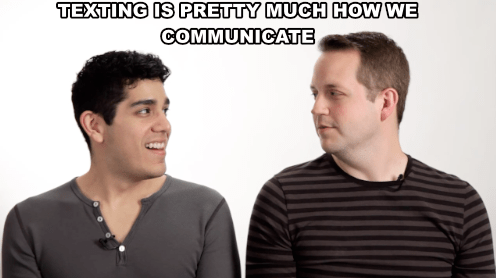 Let's be real: It's our main form of communication.
