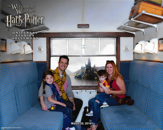 You can also take a photo on the train en route to Hogwarts — for a price.