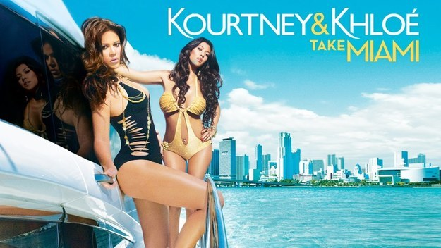 Which then leads us to all the other shows in the Kardashian universe: Kourtney & Khloe Take Miami.