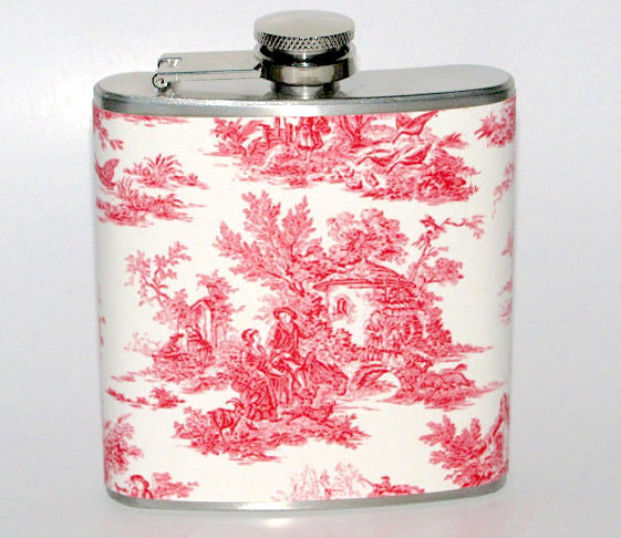 Get lit like a dang lady with this elegant flask.