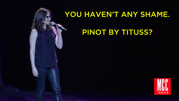 And Tina did not pass up the opportunity to lovingly call out her pal's latest business venture.