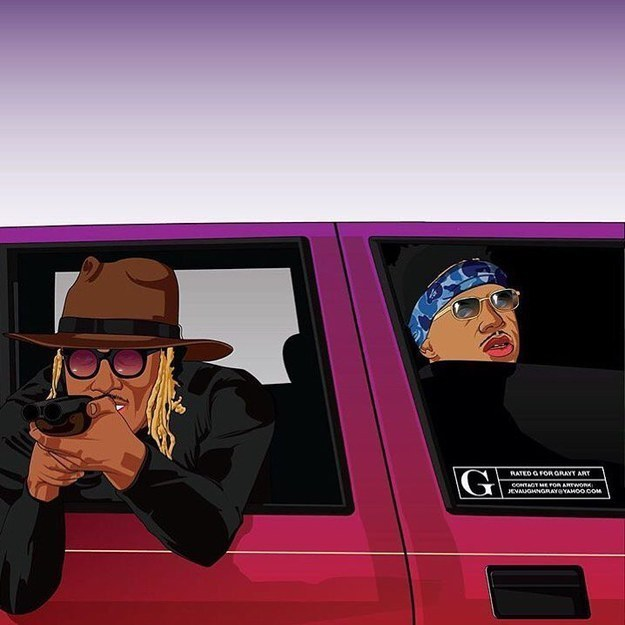 """The sound of Future mumbling, """"If Young Metro don't trust you, I'm gon' shoot you"""" has become a bit of a phenomenon."""