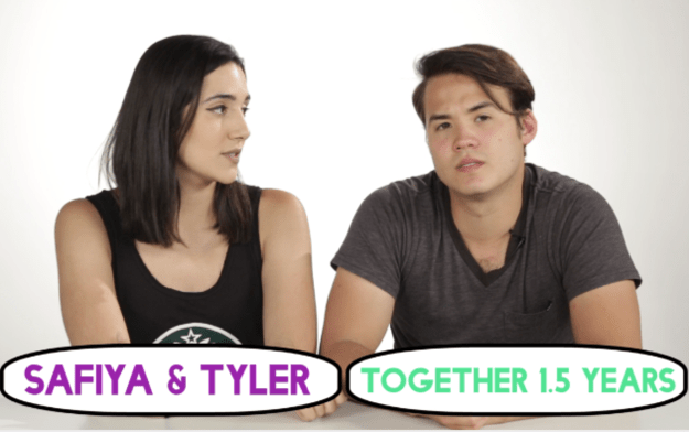 Safiya and Tyler also gave it a go. They've been dating for 1.5 years, which is enough time to know your partners taste and preferences.