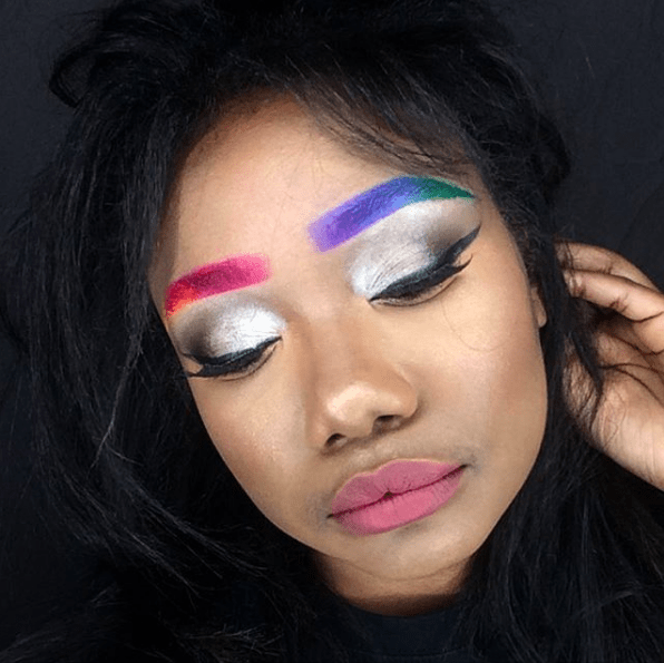 "GUYS. Meet ""rainbrows,"" AKA the prettiest freaking beauty trend happening right now."
