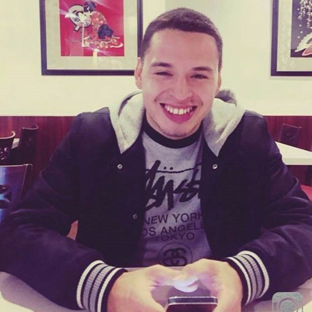 This is Abraham Martinez, a 21-year-old from Ontario, California, who was killed in a car crash on May 10.