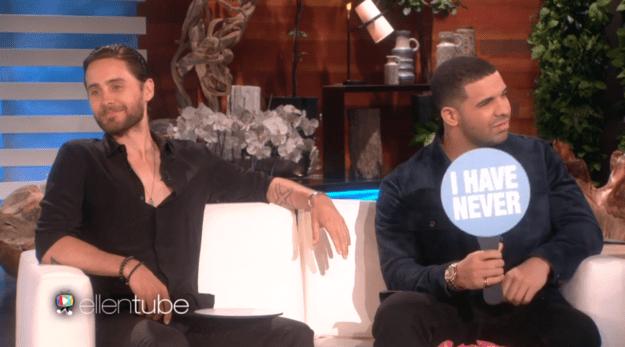 1. Drake has never sent a nude selfie.