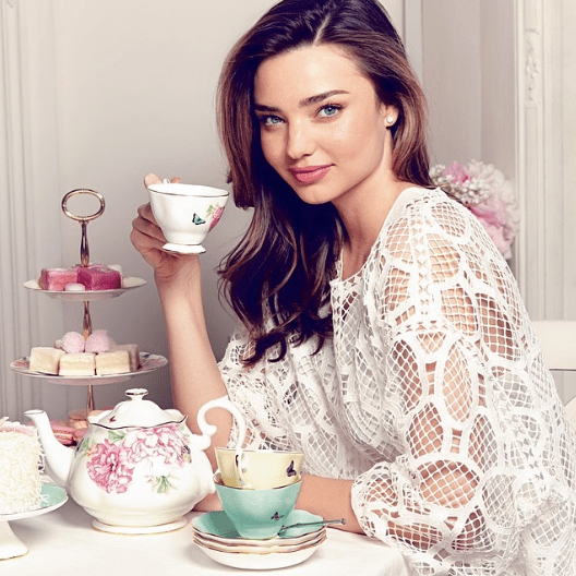 Design your own line of crockery and then have a tea party with it.