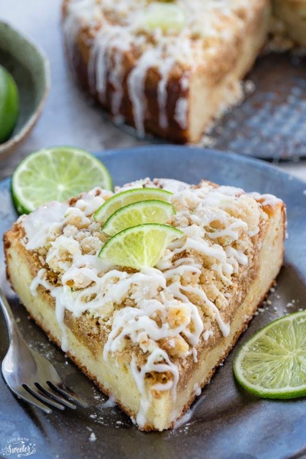 Key Lime Coffee Cake