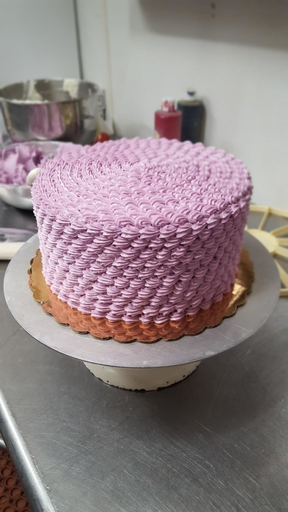This cake that's too good to eat. Maybe.