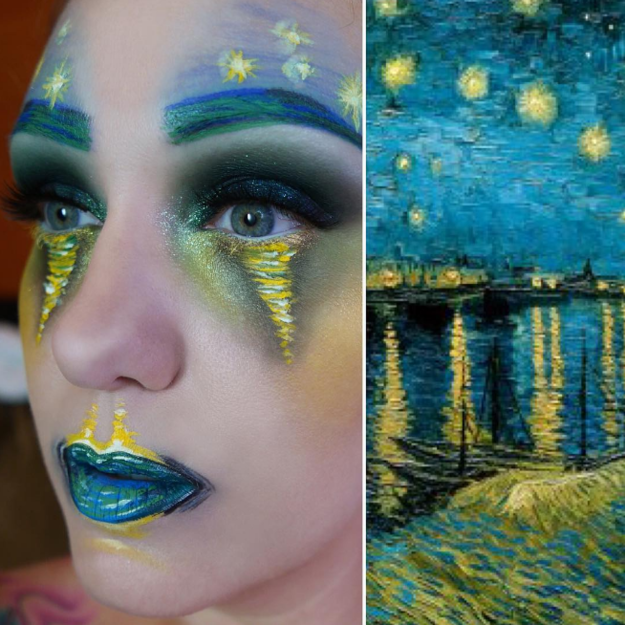 Makeup artist Lexie Lazear has been transforming herself into famous paintings, with some truly incredible results.