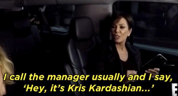 That's when Kris revealed she *already* calls herself Kris Kardashian, not Jenner.