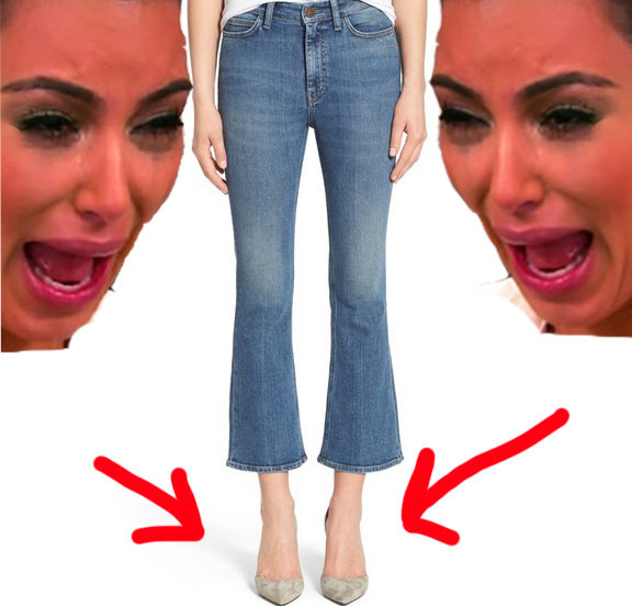 Trying on jeans without having an emotional breakdown.