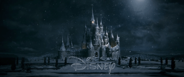 The first shot in the trailer is of the Beast's creepy gothic castle, which gives us an indication of the style of the movie.