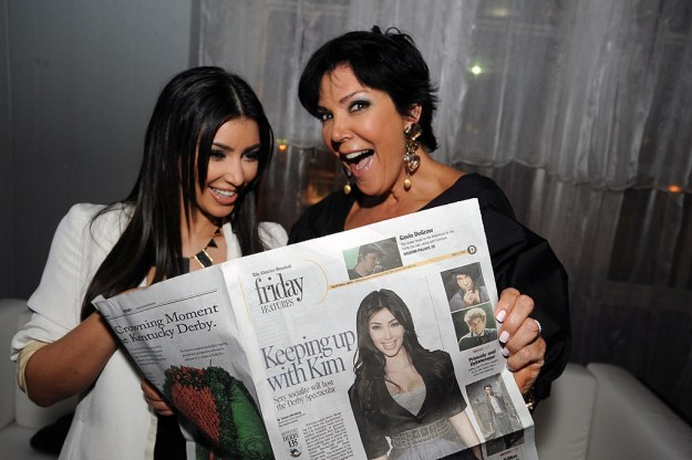 1. Kim Kardashian and Kris Jenner planned Kim's sex tape to achieve fame.
