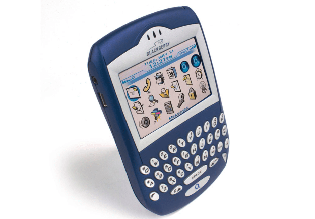 You know, the iconic phone that was able to signify how cool you were based on number of BBM contacts.