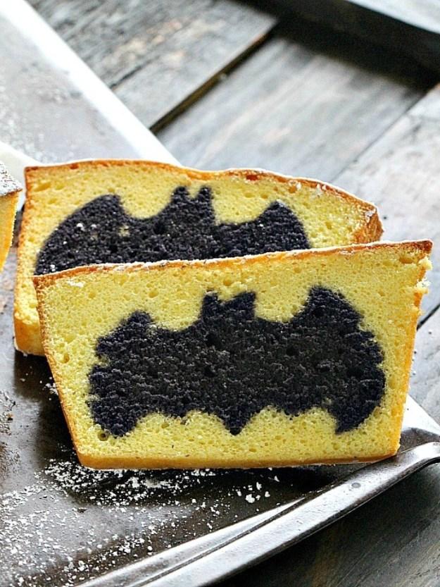 Easy Surprise Batman Cake